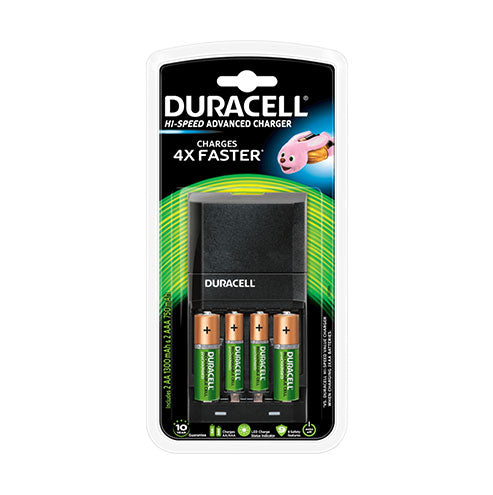 Duracell Hi-Speed Advanced Charger CEF27