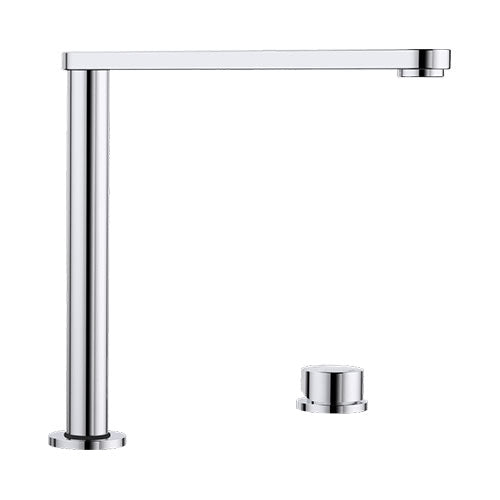 BLANCO Eloscope-F II Retractable Sink Mixer Tap - Chrome
