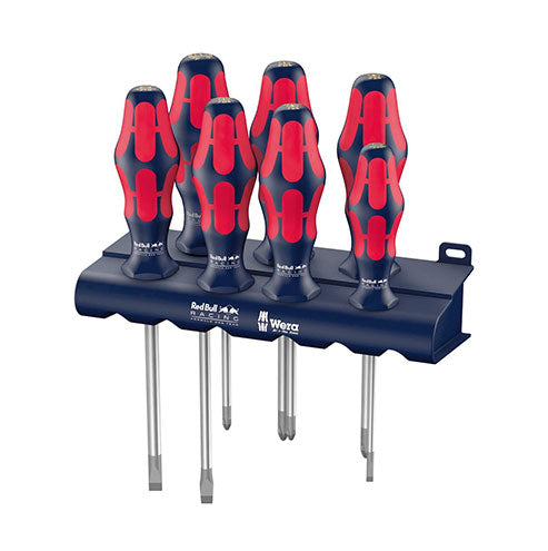 Wera Red Bull Racing Screwdriver Set Kraftform Plus Lasertip