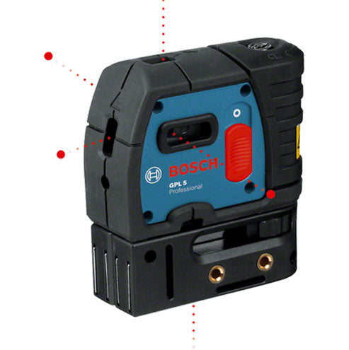 BOSCH Blue Self Leveling 5 Point Laser GPL 5