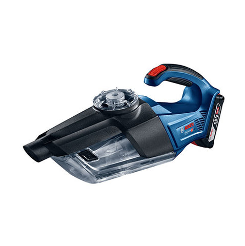 BOSCH Blue Cordless Vacuum Cleaner GAS 18V-1, Solo 18V