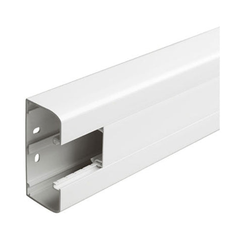 Legrand Snap On Trunking 1 Compartment 2M With Cover White