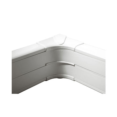 Legrand Internal Bend For 2 Compartment Snap On Trunking White