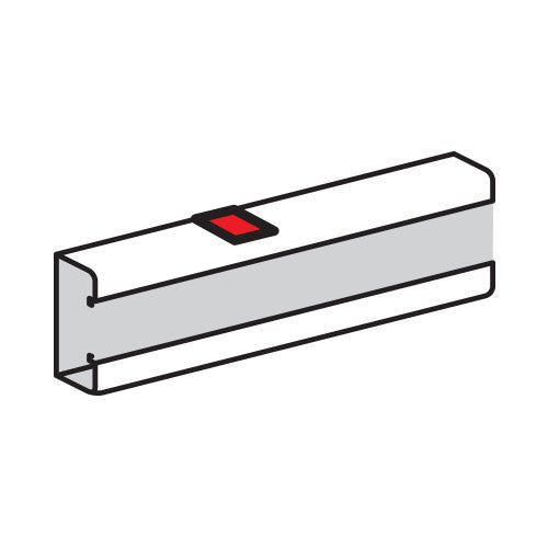 Legrand Stick-On Body Joint for Snap-On Trunking - White 75666