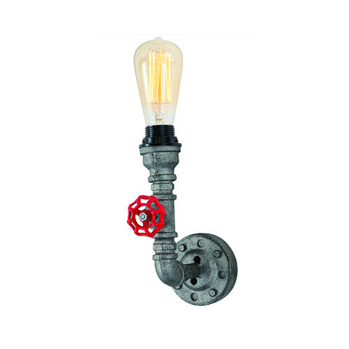 ACDC Steampunk Single Wall Light