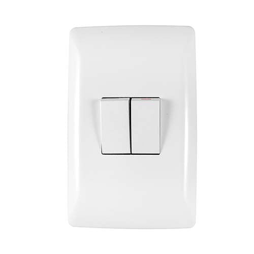 Crabtree Diamond 2 Lever 1 Way & 2 Way Light Switch
