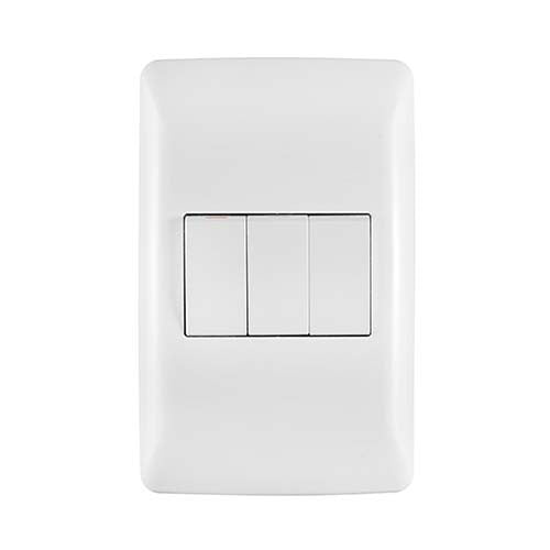 Crabtree Diamond 3 Lever 1 X 1 Way 2 X 2 Way Light Switch