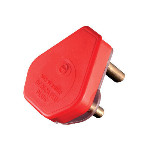 Crabtree Dedicated Plug Top 3 Pin 16A Red