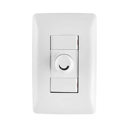 Crabtree Diamond Rotary Dimmer with 2x1 Way Light Switches