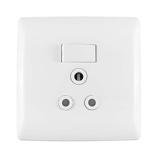 Crabtree Diamond Single Vertical Monoblock Socket