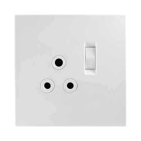 Crabtree Topaz Single 16A Switched Socket