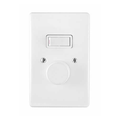 New Crabtree Classic 500W LED Rotary Dimmer Lever Switch