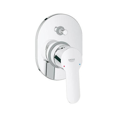 Bauedge Single Lever Bath Shower Mixer With Diverter