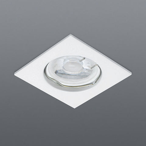 Spazio 2232 White Aluminium Downlight