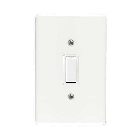 Crabtree Classic 1 Lever 1 Way Light Switch 2471+6541/101