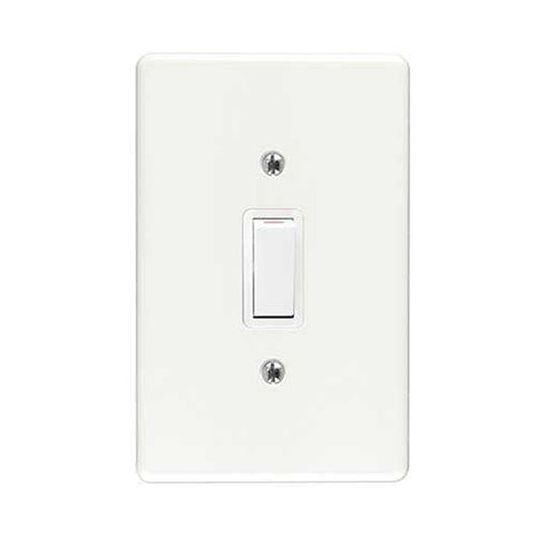 Crabtree Classic 1 Lever 2 Way Switch 2571+6541/101