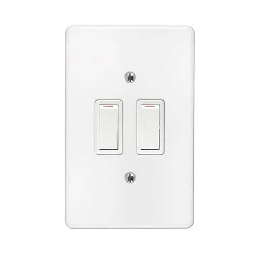 Crabtree Classic 2 Lever 2 x 2 Way Light Switch