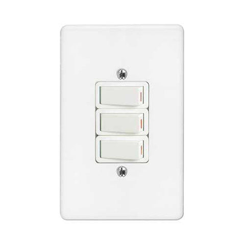 Crabtree Classic 3 Lever 1 X 1 Way 2 X 2 Way Light Switch