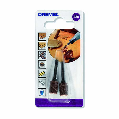 Dremel Sanding Band Mandrel 6 4mm 60 Grit 430
