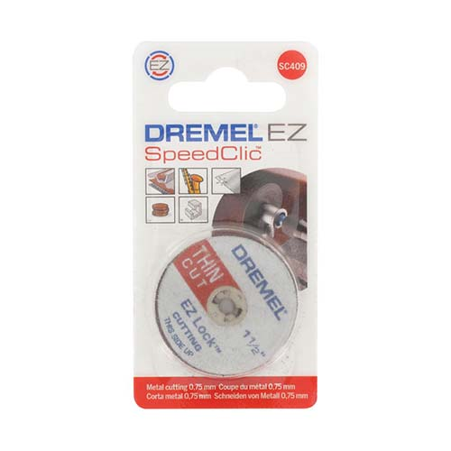 Dremel Ez Speedclic Thin Cutting Wheels Sc409