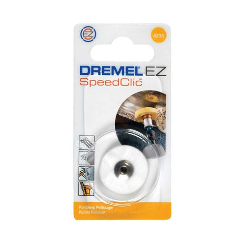 Dremel Ez Speedclic Polishing Cloth Wheel 423S