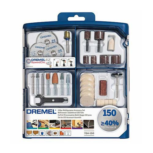 Dremel Multipurpose Accessory Set 150 Pieces 724