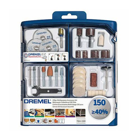 DREMEL® Multipurpose Accessory Set (724) - 150pc