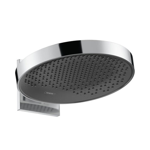 hansgrohe Rainfinity Overhead Shower 360 1 Jet with Wall Connector - Chrome