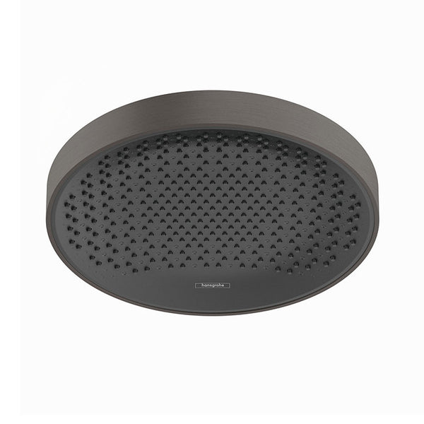 hansgrohe Rainfinity 360 1jet OverHead Shower Ceiling or Wall Connector - Brushed Black Chrome