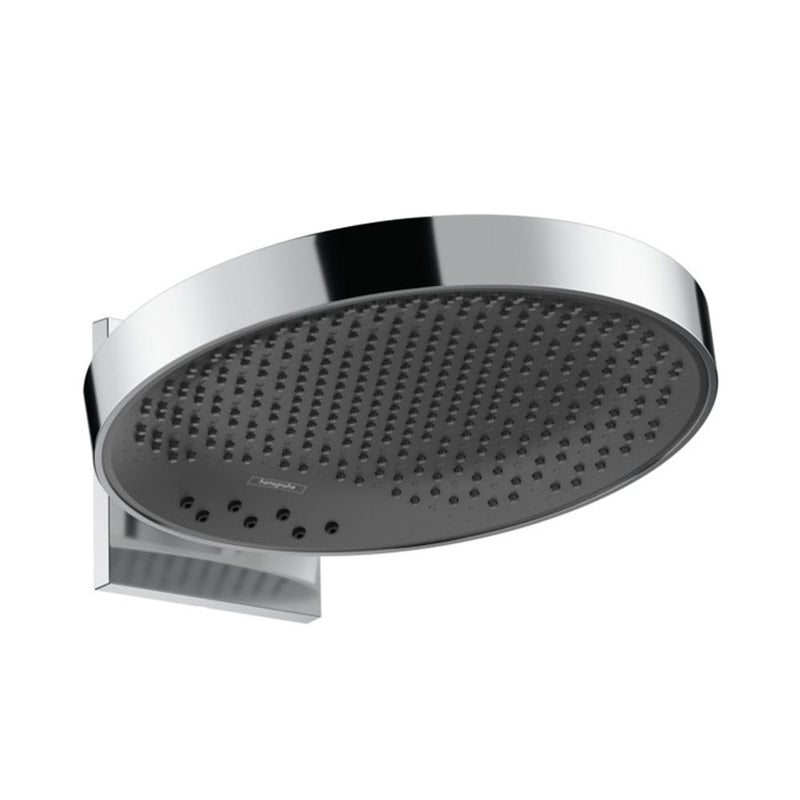 hansgrohe Rainfinity Overhead Shower 360 3 Jet with Wall Connector - Chrome