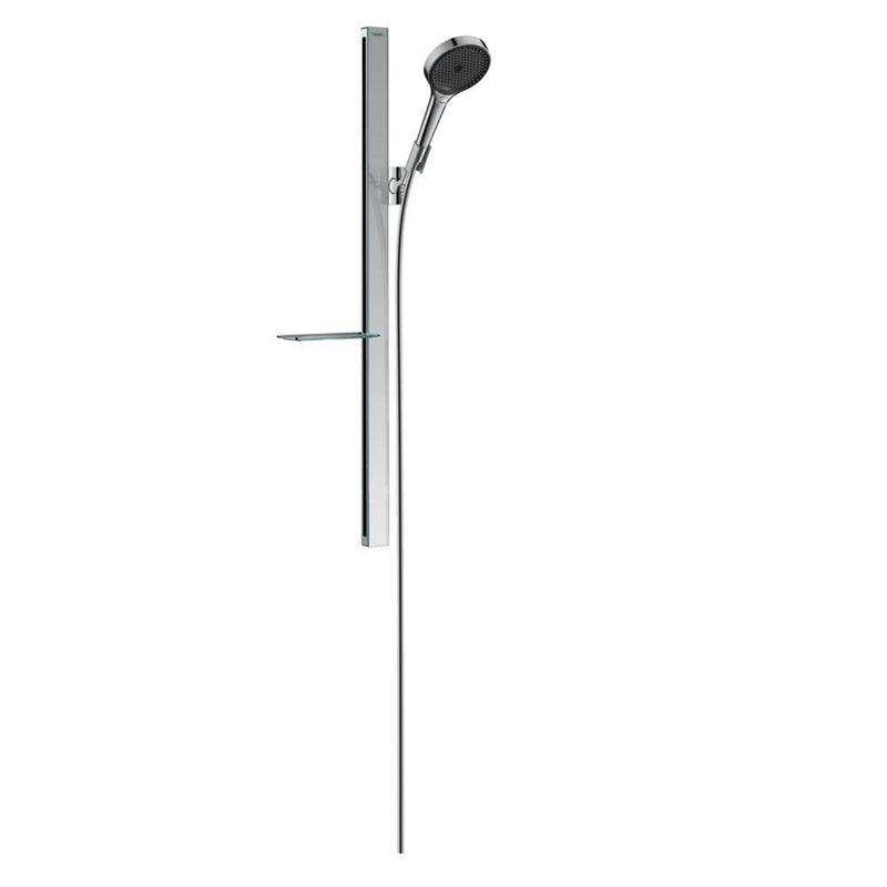 hansgrohe Rainfinity Shower Set 130 3 jet with Shower Bar 900mm and Soap Dish