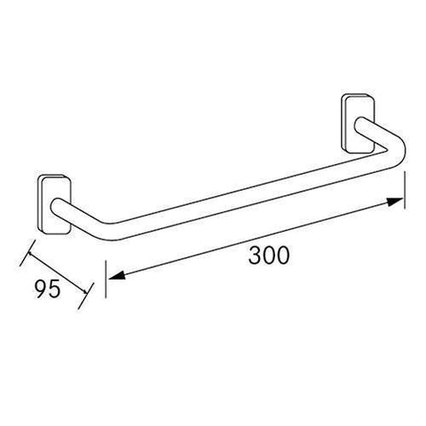 Franke Cntx300 Straight Grab Rail
