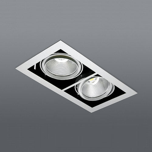 Spazio Kardan Double Natural White 35W LED Downlight