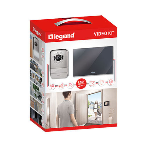 Legrand 7 Complete Colour Video Kit Mirror Effect
