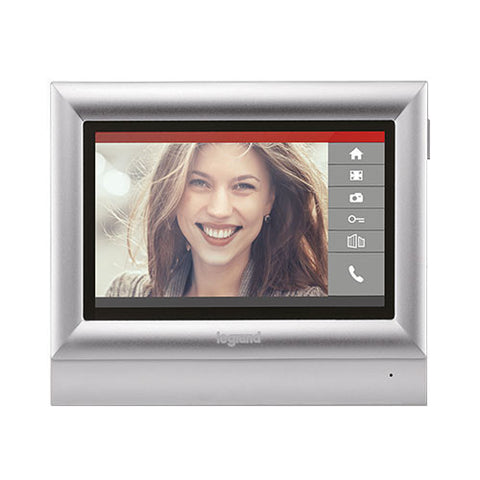 "Legrand Additional 7"" Touch Colour Video Unit - Silver"
