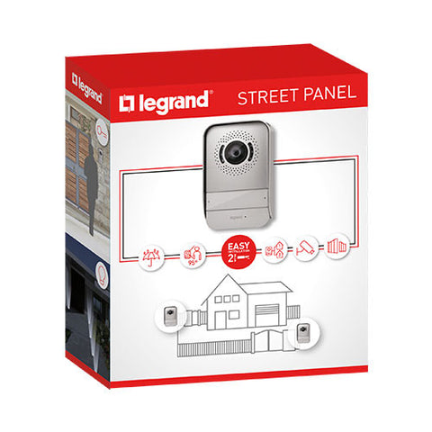 Legrand Additional Street Panel (Enterance) - Silver