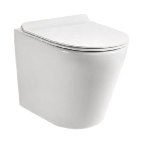 VAAL Entice Rimless Back-to-Wall Toilet Pan