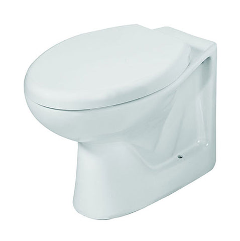 VAAL Parktown Back Inlet Back-to-Wall Toilet Pan