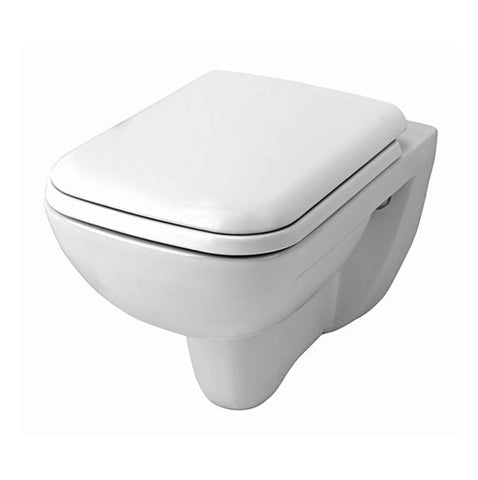 VAAL Urban Life Wall Hung Rimless Pan Toilet