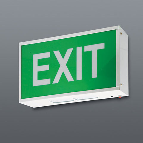 Spazio LED Exit Sign - Wall