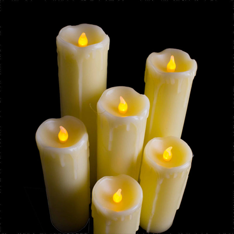 LED Flameless Candle Lights (6pc)