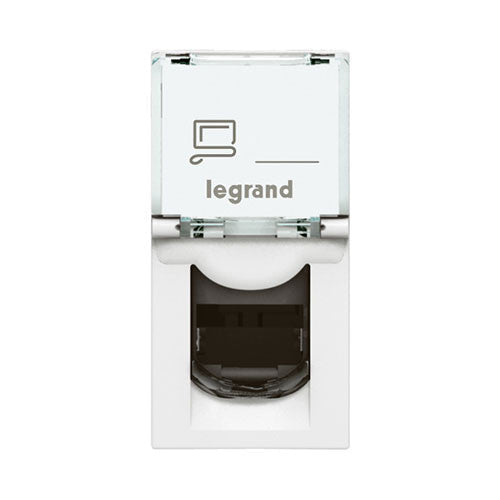 Legrand Arteor Rj45 Cat 6 Network Socket Module White