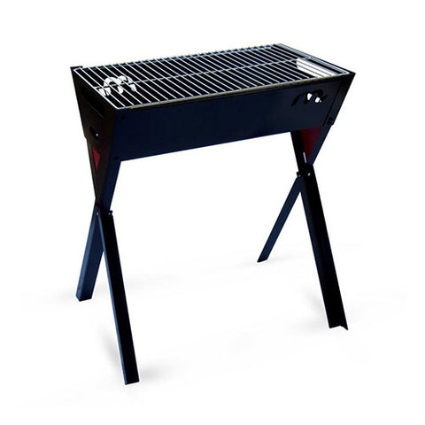 Megamaster 600 Freestanding Crossover Braai - Charcoal