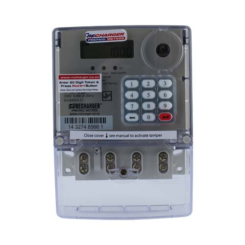 Recharger Hexing Single Phase Prepaid Electricity Meter