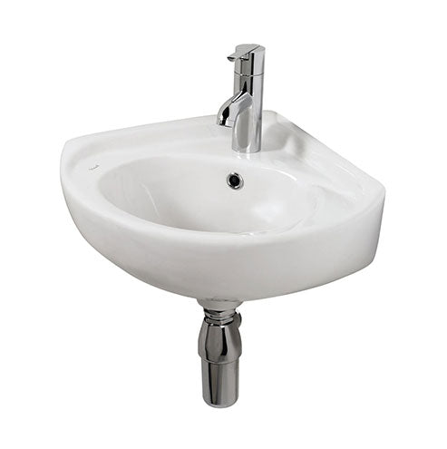 Vaal Kite Wall Hung Corner Basin 470 x 415mm