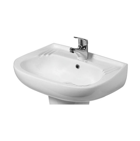 VAAL Hibiscus Wall Hung Basin 510 x 405mm