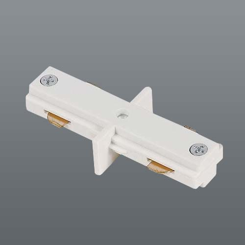 Spazio 3 Wire Slim Track Linear Joint - White