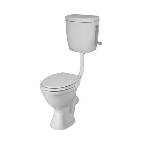 VAAL Protea Paraplegic 90° Outlet Toilet Pan