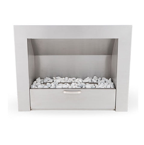 Megamaster 900 Vent-Free Built-in Fireplace - Stainless Steel