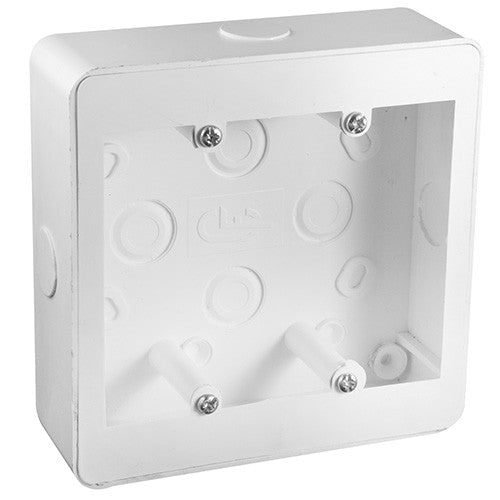 Crabtree Extension Box With Knock Outs 100mm x 100mm